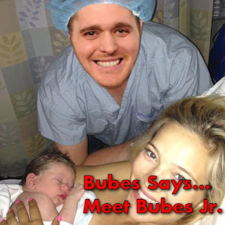 Bubes Says... Meet Bubes Jr.