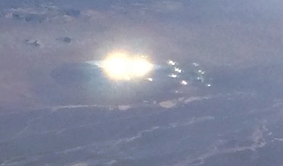 Passanger On American Airlines Spots UFO Over Nevada, UFO Sightings