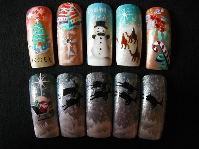 Christmas Nail Art Ideas -19
