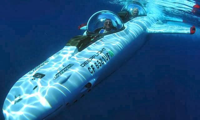 kapal selam mini mewah