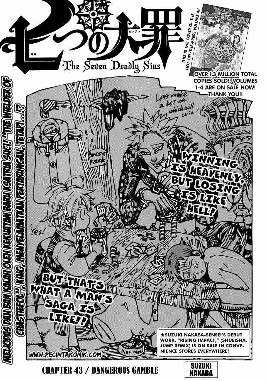 Komik nanatsu no taizai 043 - bahaya berjudi 44 Indonesia nanatsu no taizai 043 - bahaya berjudi Terbaru 1|Baca Manga Komik Indonesia