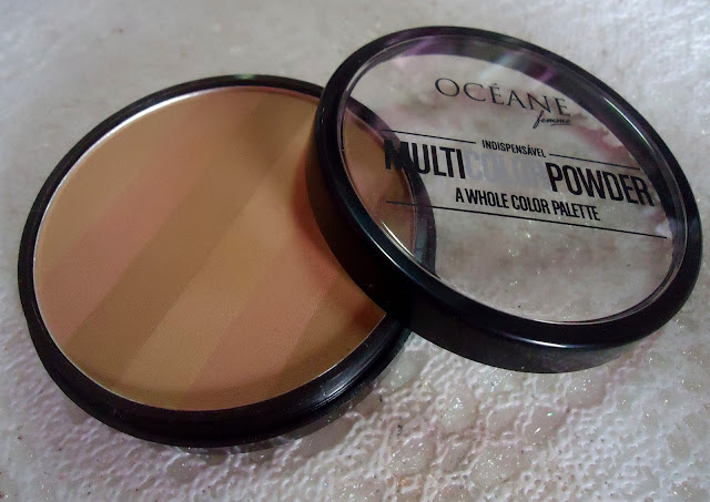 multi color powder oceane femme