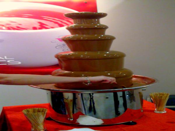 Obraz: czekoladowe fondue
