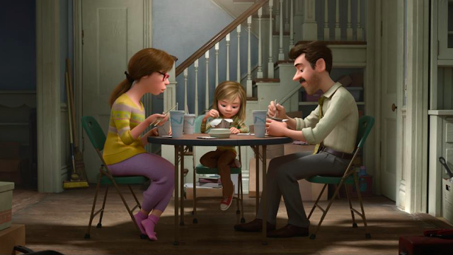 Disney Pixar Inside Out - Riley and family