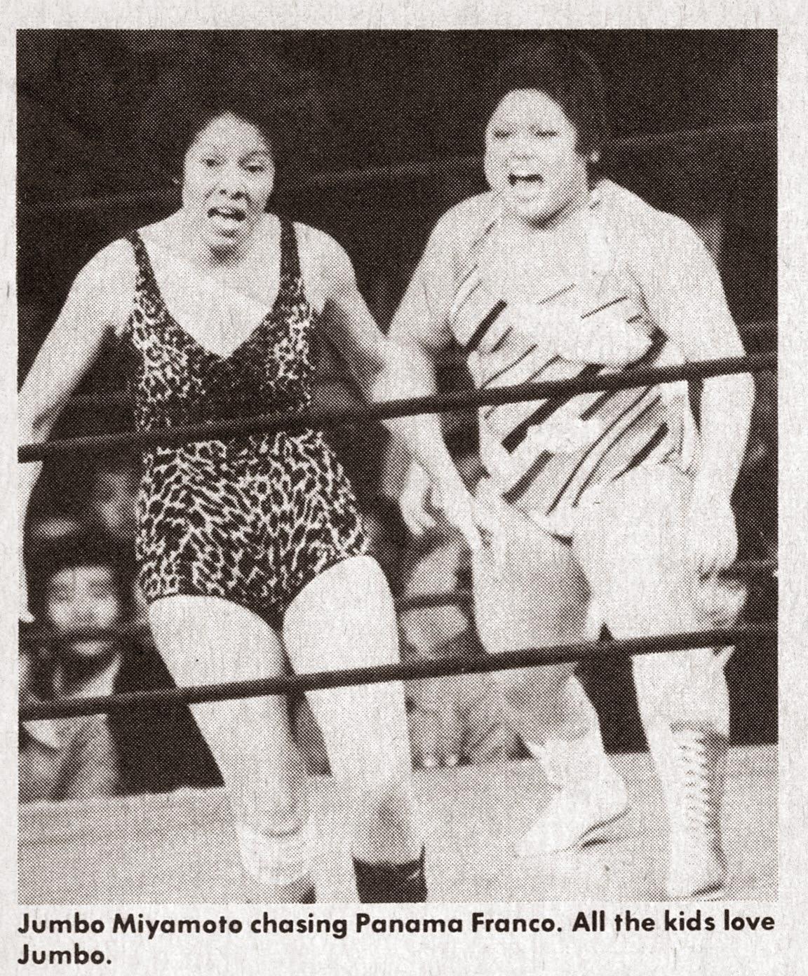 Joshi Puroresu 70s women wrestling Joshi+puroresu