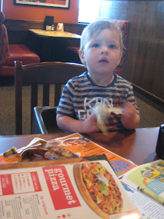 Boston Pizza Orleans Ethan