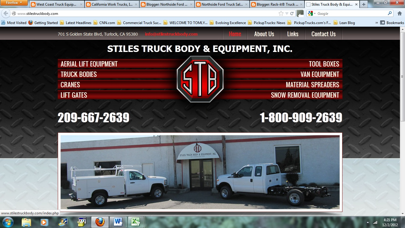 Rack It Truck Racks Stiles Truck Body And Equipment A