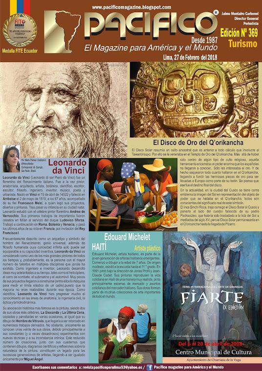 Revista Pacifico Nº 369 Turismo