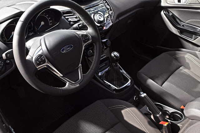 Ford New Fiesta 2015 - interior
