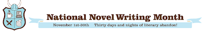 National Novel Writing Month : 30 days nights of literary abandon