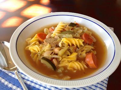 Vegan Minestrone Soup Recipe