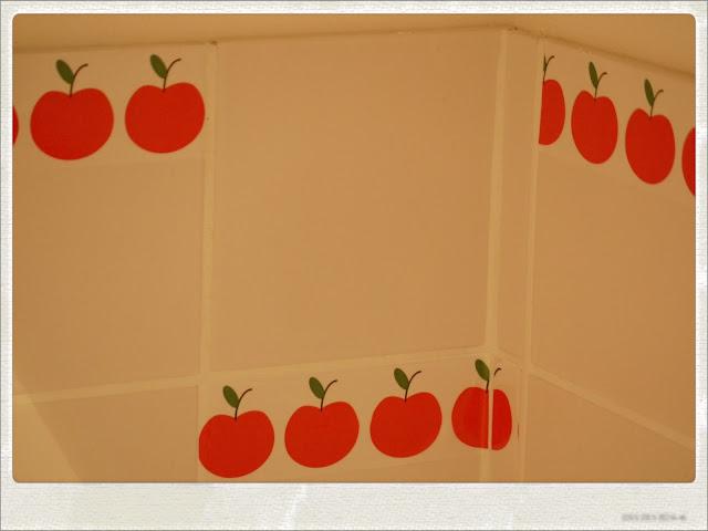 credence vintage pomme