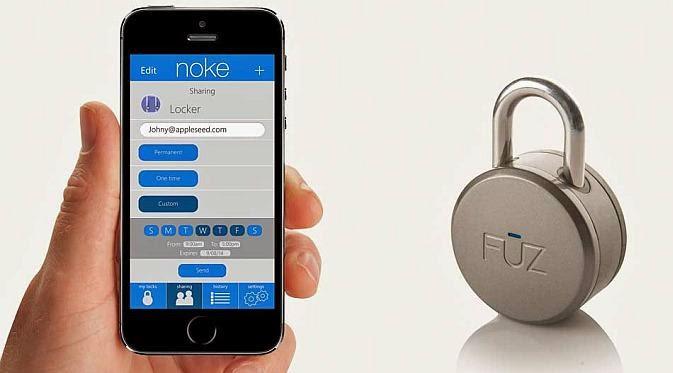 [FOTO] SPESIFIKASI HARGA GEMBOK BLUETOOTH NOKE TERBARU  Kelebihan Gembok Bluetooth Noke-Fuz Designs