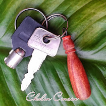 KEY CHAIN TERAS KAYU