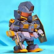 RGM-79CR Gundam Papercraft