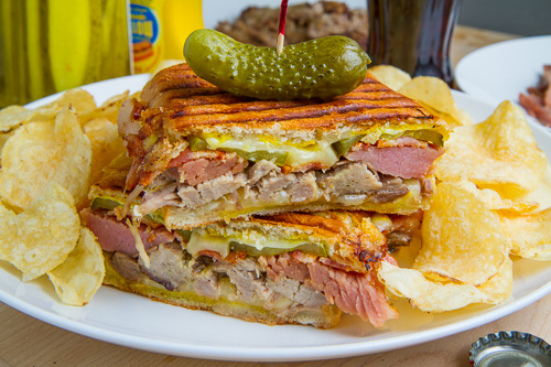 Cuban Sandwich on Closet Cooking