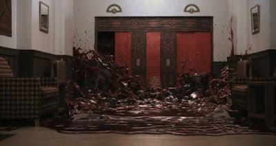 the shining el resplandor elevator lift ascensor sangre stanley kubrick jack nicholson pelicula