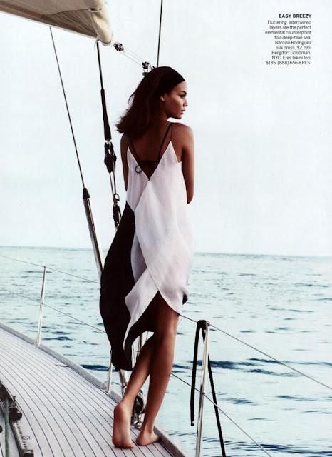 Joan Smalls by Patrick Demarchelier, Vogue US April 2013