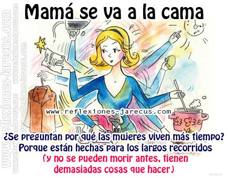 mamá, papá, cansada, ropa, secadora, lavadora, plantas, cafetera