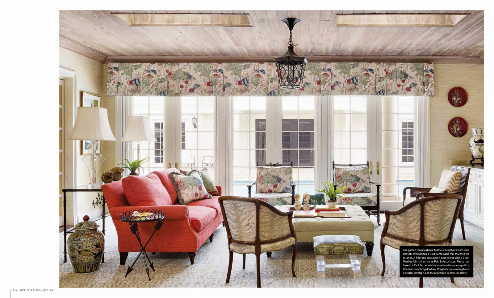 Jessica glynn interior design by gil walsh luxe magazine for Classic house 2015