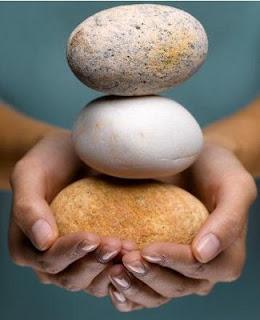carregando pedras