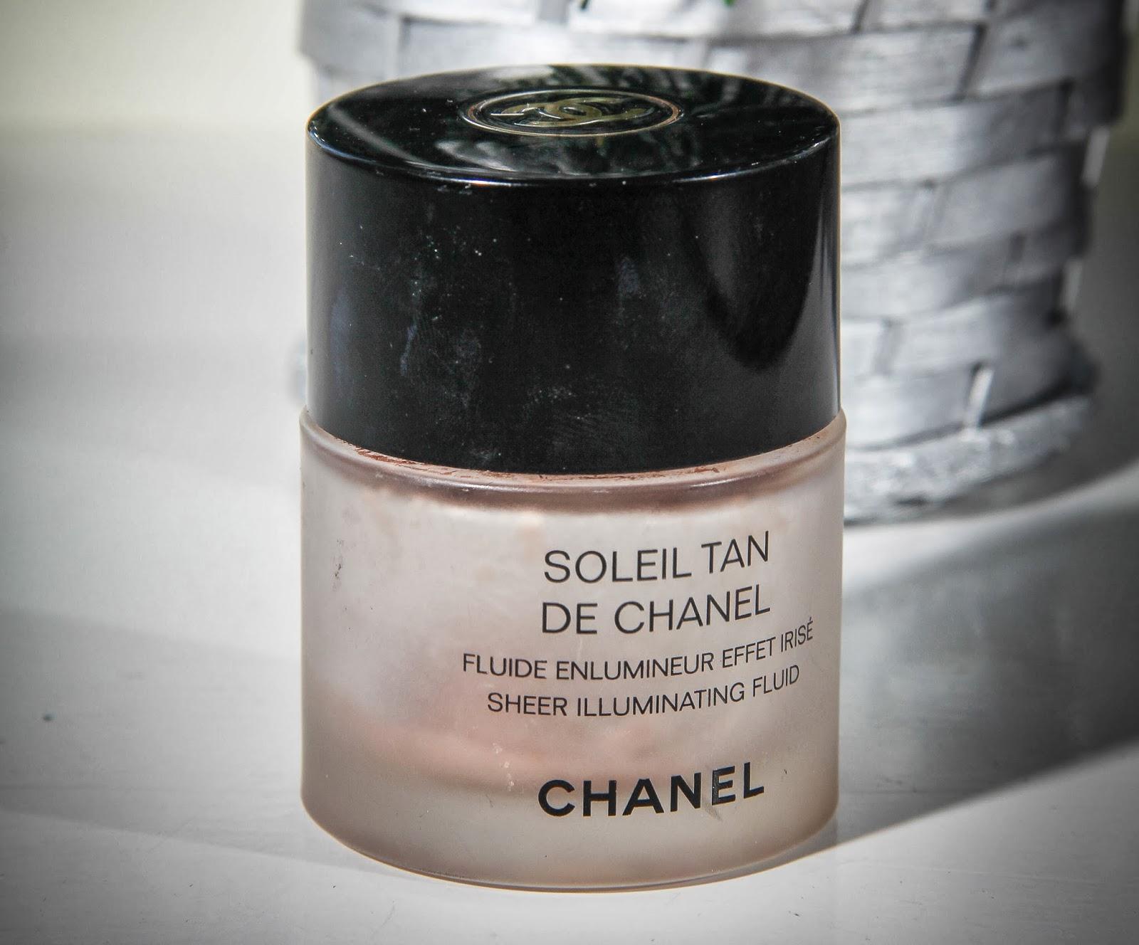 how to use soleil tan de chanel sheer illuminating fluid