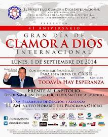Todo Puerto Rico va para Clamor a Dios