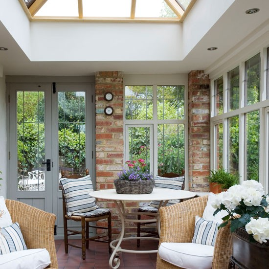 New home interior design country conservatories for Conservatory interior designs
