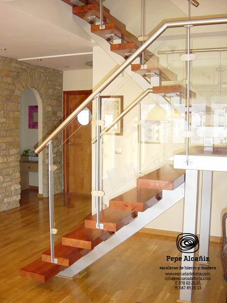 Escalera interior - Escaleras para buhardilla ...