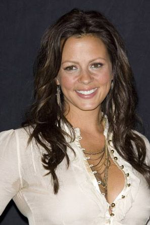 Sara Evans With Wide Button