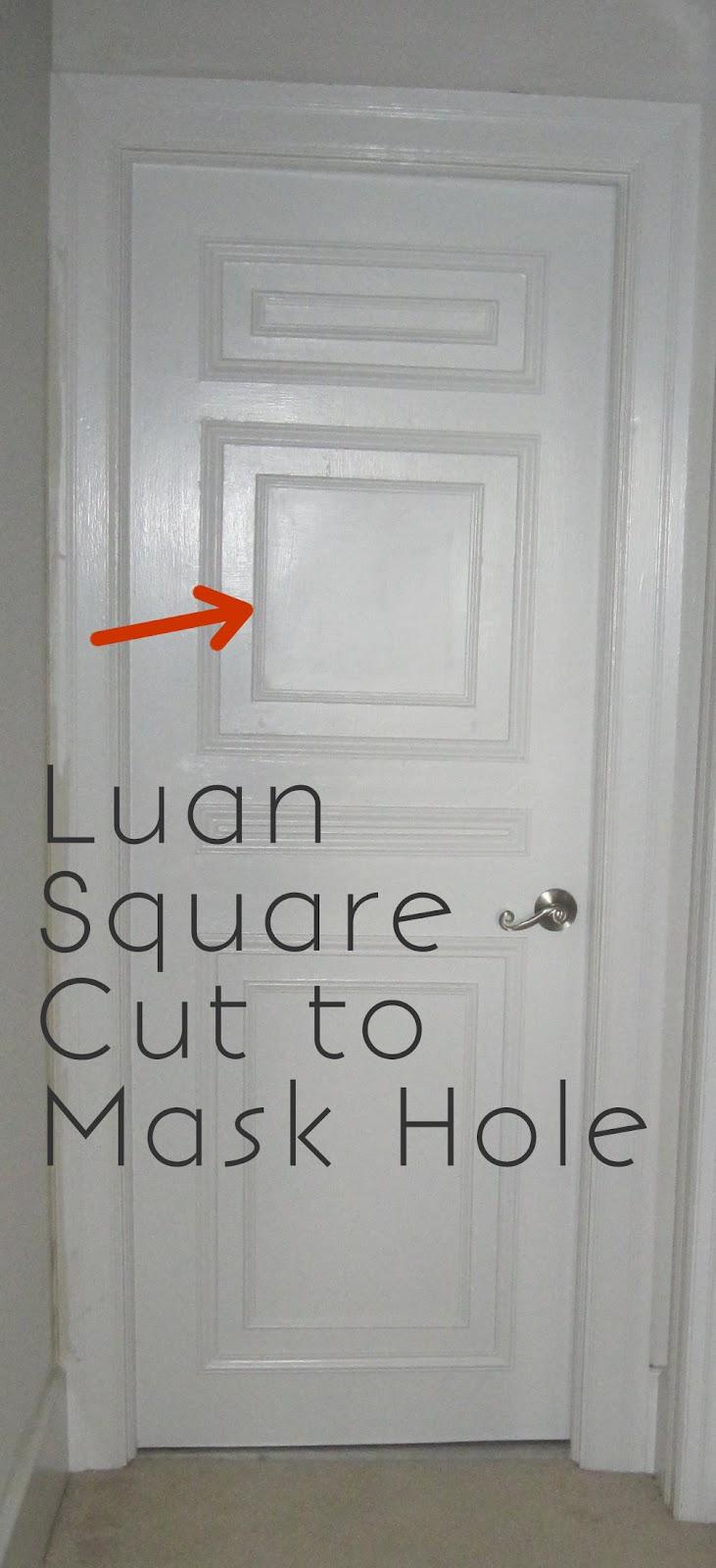 how to fix hollow core door