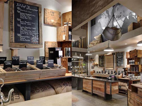 Rustic Eco Chic Store Built By Starbucks AllThingAbout