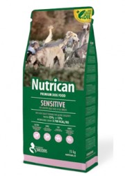 NUTRICAN SENSITIVE 15kg + 3 ΔΩΡΟ = 45 ΕΥΡΩ!!!