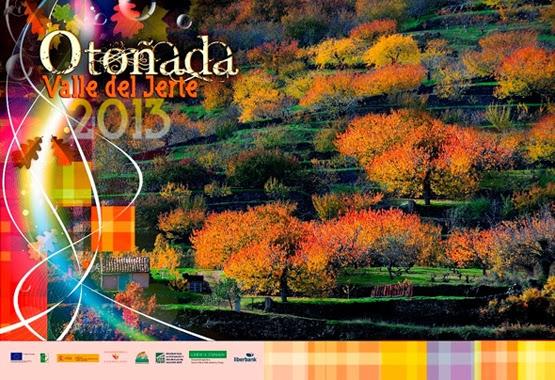 Cartel oficial. OTOÑADA 2013 en el Valle del Jerte