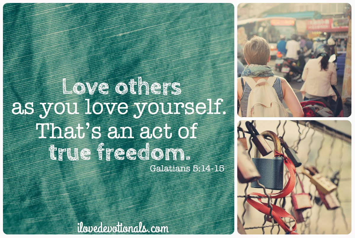 love others as you love yourself bible verse