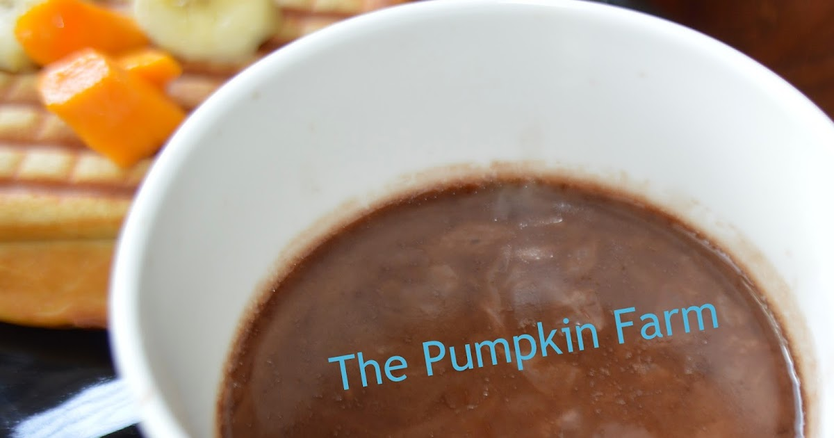 Celebrating Food: Belgian Hot Chocolate