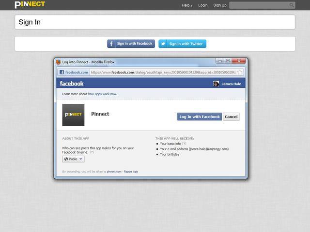 UniProgy Social Module v1.0.3 for Pinnect v1.1.x