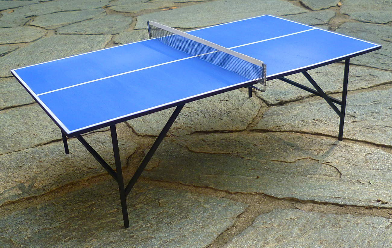 My momoko world tavolo da ping pong con racchette - Misure tavolo ping pong regolamentare ...