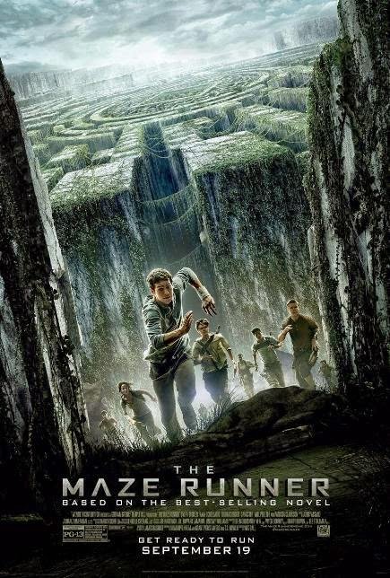 """The Maze Runner (2014)"" movie review by Glen Tripollo"