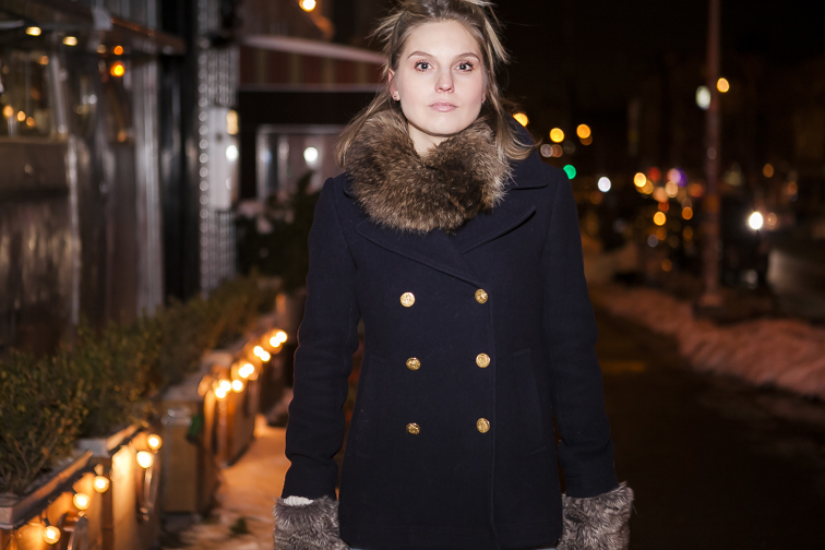 JCrew Majesty pea coat