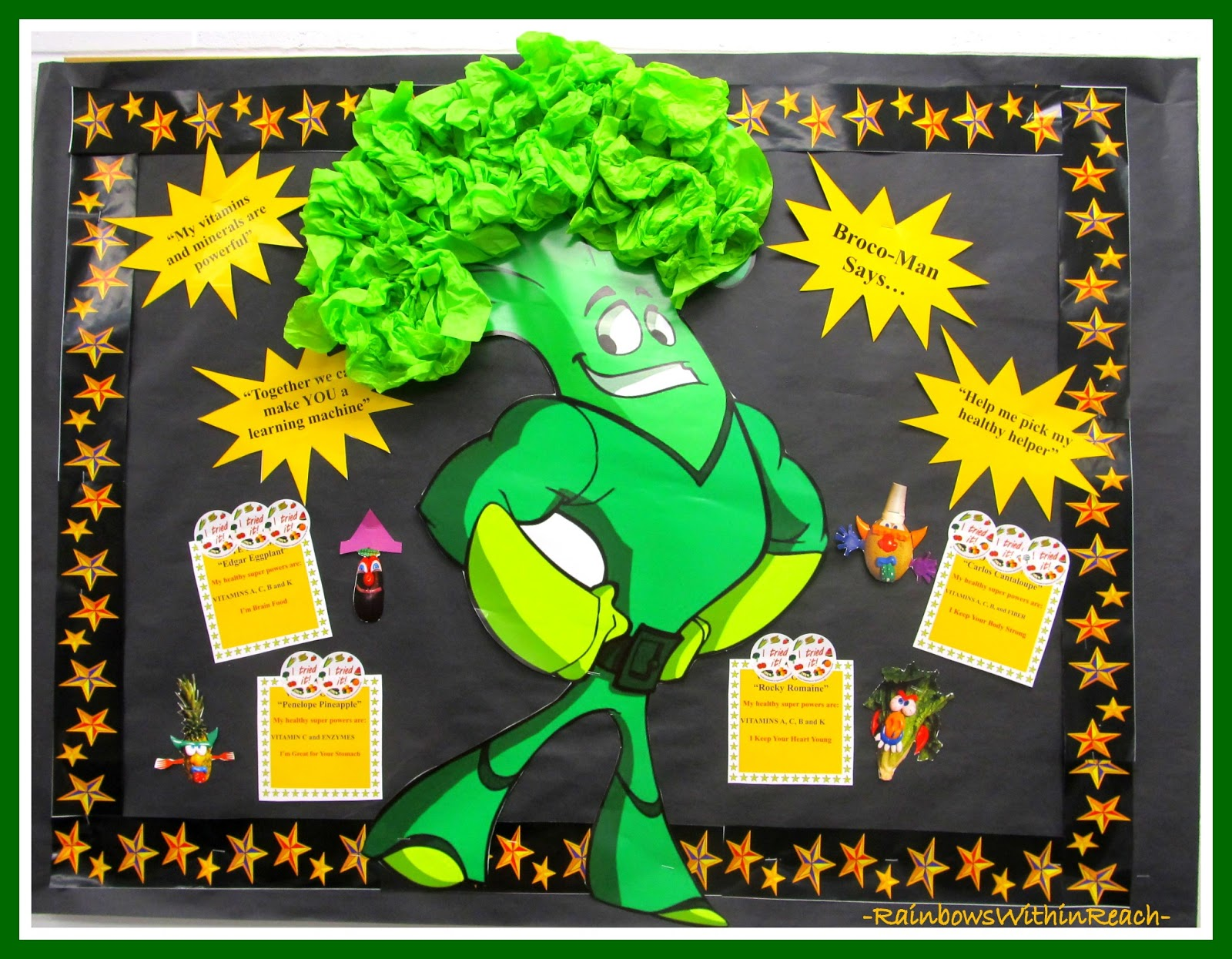 Art craft ideas and bulletin boards for elementary schools vegetable - Art Craft Ideas And Bulletin Boards For Elementary Schools Vegetable 50
