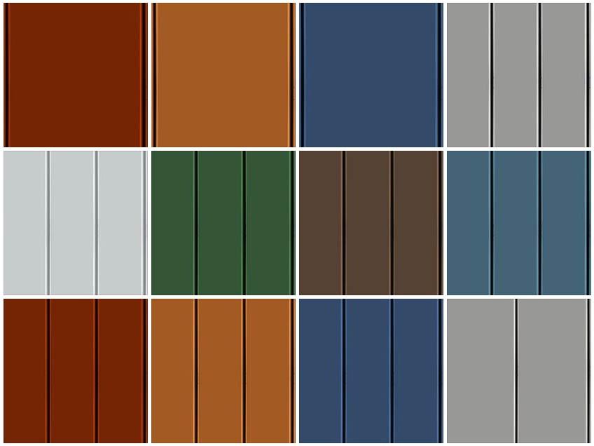 Aluminum Cladding Materials : Sketchup texture metals panels