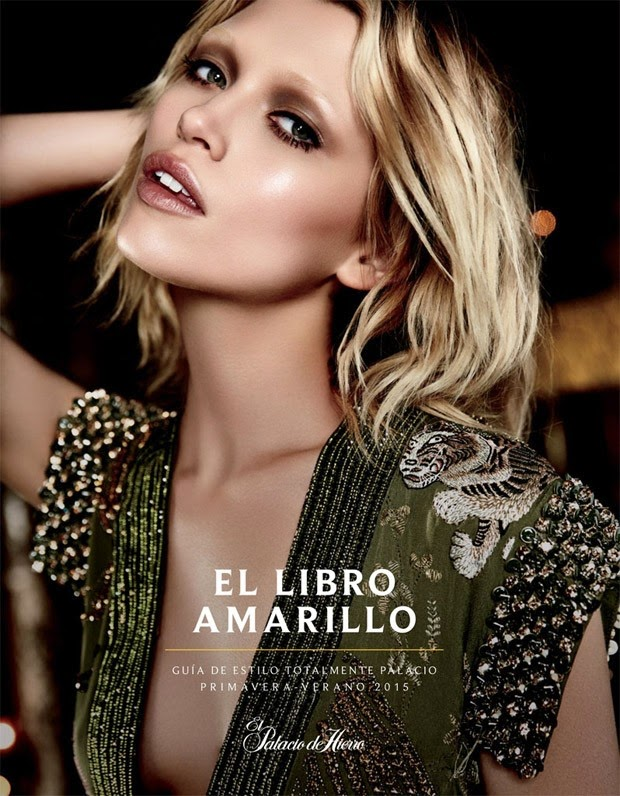 El Libro Amarillo Spring/Summer 2015 Lookbook featuring Hana Jirickova