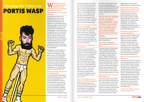 Portis Wasp Interview win Scotcampus February 2014 Edition