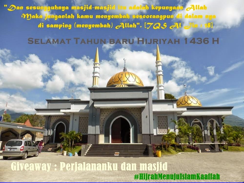 Give Away) Perjalananku dan masjid