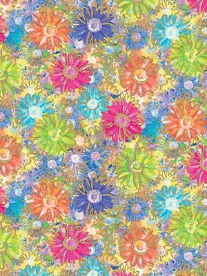 Dibujo a lápiz de flores de colores  Laminas de flores para imprimir