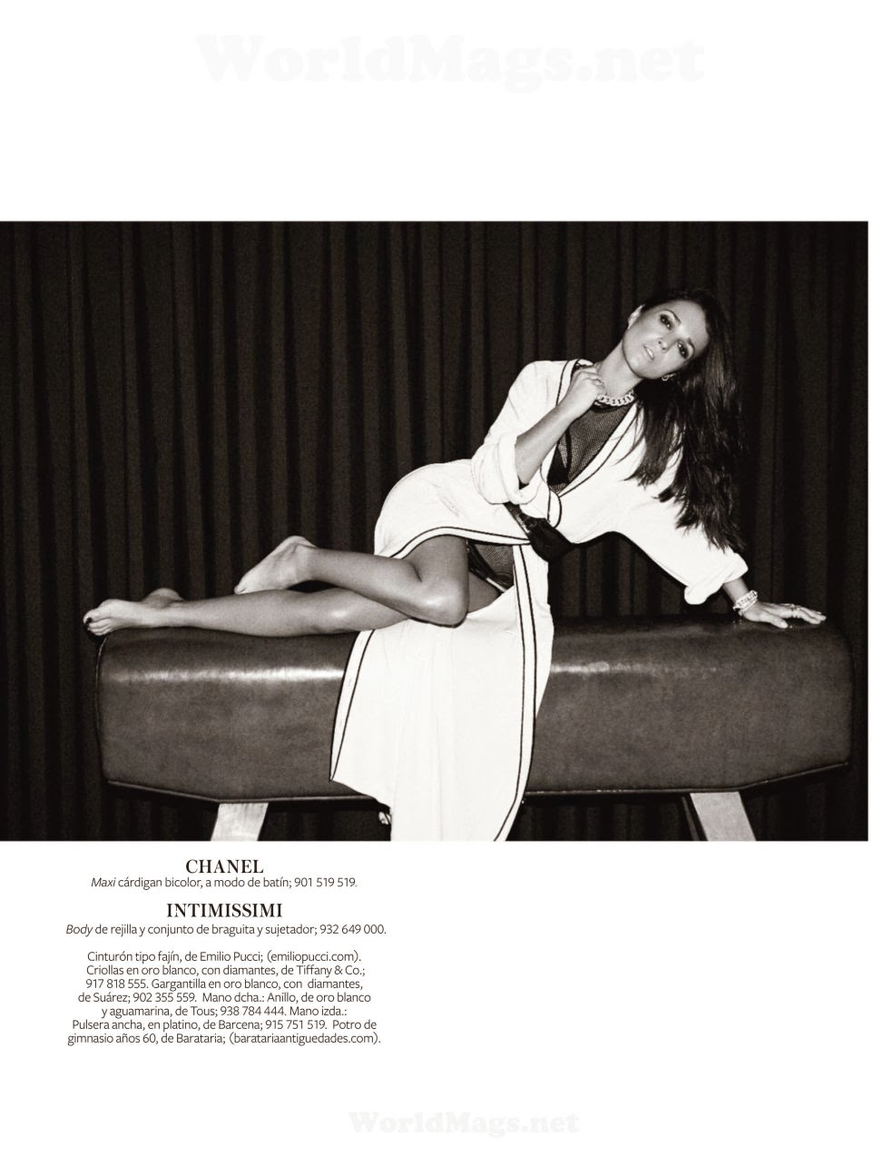 Paula Echevarria InStyle Spain Magazine Photoshoot February 2014