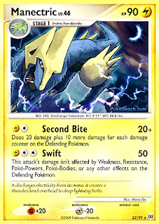 Manectric Pokemon Card Arceus Set