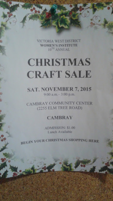 image 2015 Christmas Craft Show- Cambray Kawartha Lakes poter