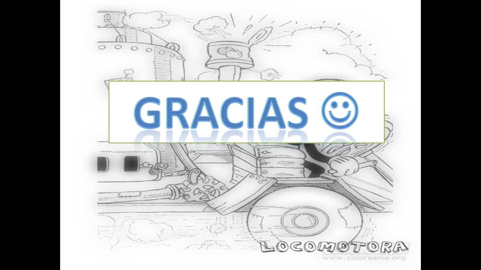 Máquinas para niños: La locomotora